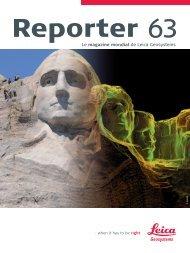 Le magazine mondial de Leica Geosystems