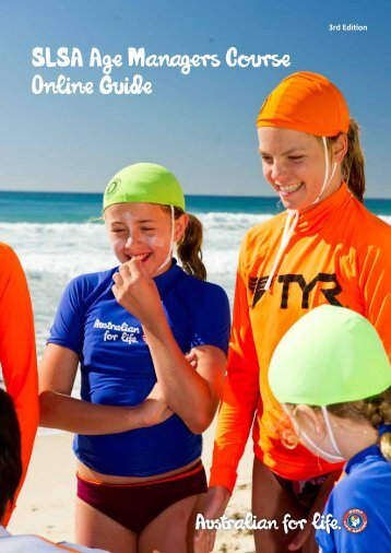 Age Managers Guide - Surf Life Saving - Sydney Northern Beaches