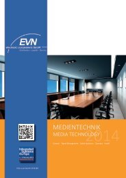 Medientechnik media technology - EVN electronic components GmbH