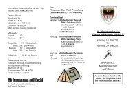 Turnierausschreibung 2013 - EINTRACHT DUISBURG 1848 eV