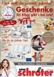 Geschenke und Weihnachtsverkauf
