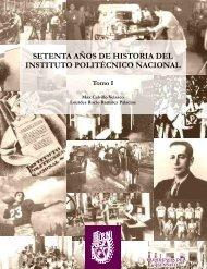 Tomo I - Dirección de Publicaciones - Instituto Politécnico Nacional