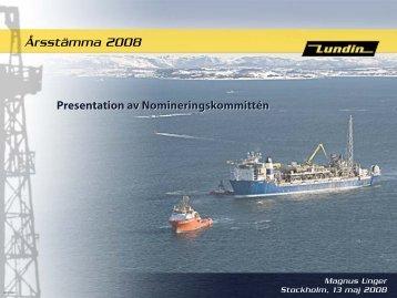Styrelsens Organisation och ... - Lundin Petroleum