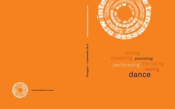 08 - Internationale Tanzmesse NRW