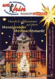Wittenberg - Leipzig - wohin - Ihr Kulturmagazin für Sachsen-Anhalt