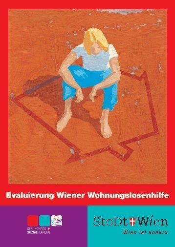 Evaluierung Wiener Wohnungslosenhilfe