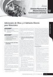 Adicionales de Obra y el Adelanto Directo para Materiales - Revista ...