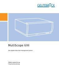 Bedienungsanleitung für MultiScope