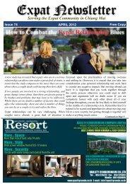 Expat Newsletter - Chiang Mai SOS
