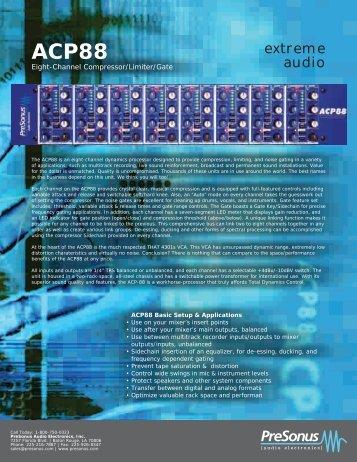 ACP88 - zZounds.com