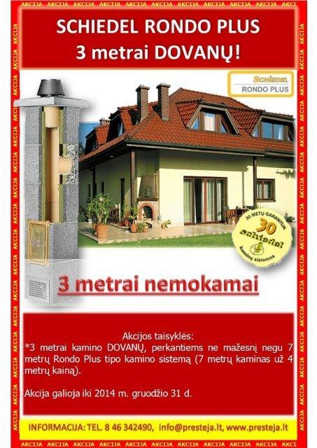 Statybinės ir apdailos medžiagos. AKCIJOS. www.presteja.lt