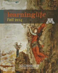 learninglife - College of Continuing Education - University of ...
