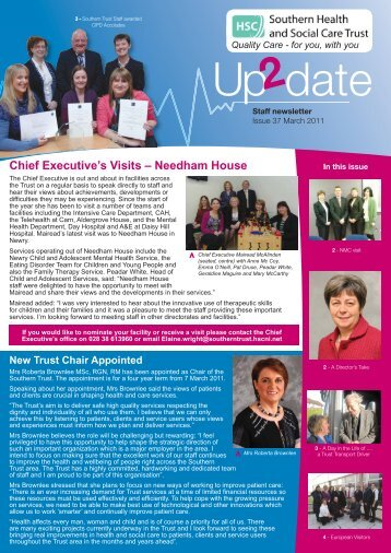 Issue 37 - March 2011 - Southern Health and Social Care Trust