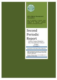 First Periodic Report - Afghan Development Association