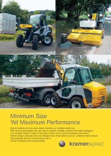 Minimum Size Yet Maximum Performance