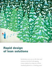 Rapid design of lean solutions - McKinsey & Company