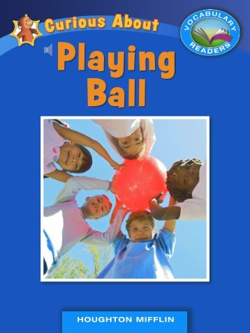 Lesson 28:Curious About Playing Ball