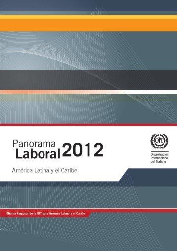 Panorama laboral 2012 - Organização Internacional do Trabalho