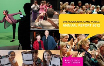 JBFC Annual Report 2012 - Jacob Burns Film Center