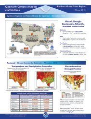 Quarterly Climate Impacts and Outlook - US Drought Portal