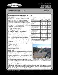 7. Understanding Wireless Video for CCTV - Opticom