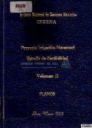 Proyecto irrigación Mazamari: Estudio de factibilidad - Autoridad ...