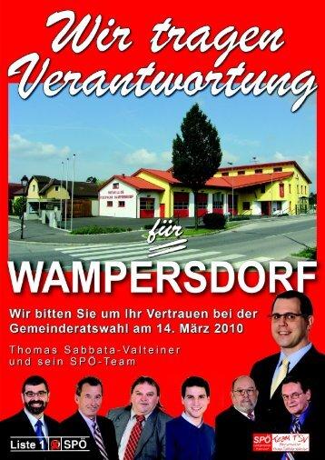Sozialdemokratische Perspektive Nr. 4d/10 - Pottendorf - SPÖ