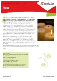 Advent Reflections Resource Sheet - Waverley Care