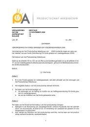 bijlage 14 - Productschap Akkerbouw