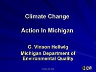 Climate Change Action In Michigan - ladco