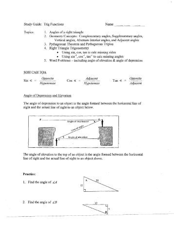 4A Study Guide Part 1: Angle Relationships - YouTube