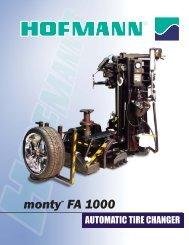 monty™ FA 1000 - Ctequipmentguide.ca