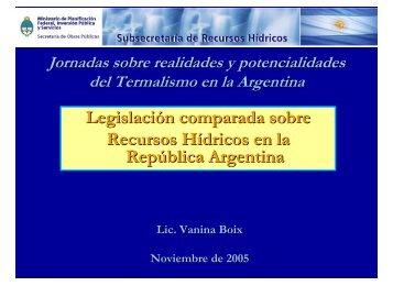 (Microsoft PowerPoint - Presentaci\363n Jornada Termalismo - Lic ...