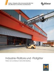 Industrie-Rolltore und -Rollgitter - Hörmann KG