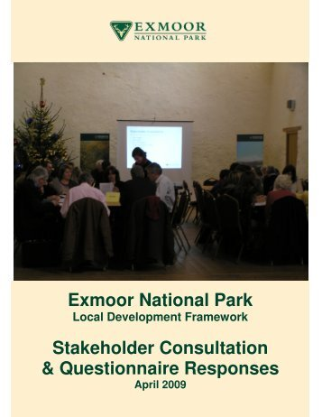 LDF Stakeholder Consultation Report - Exmoor National Park
