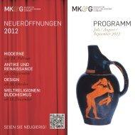 Seit 18. Februar 2012 - Museen für Kunst und Gewerbe
