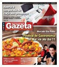 Ano 1 • Nº 18 • Semana de 3 a 9 de dezembro de 2011 - Gazeta ...