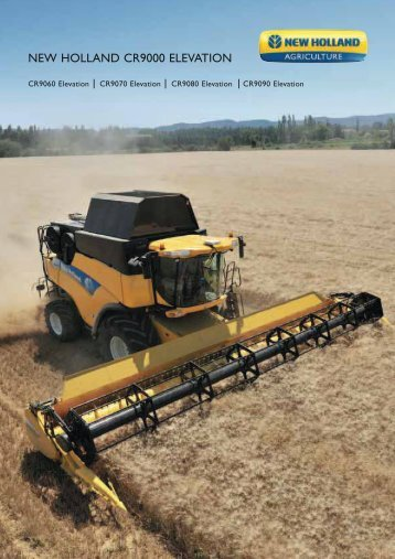 NEW HOLLAND CR9000 ELEVATION