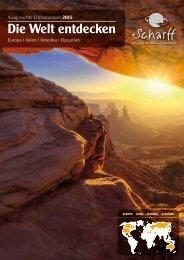 Scharff Reisen - Die Welt entdecken 2015