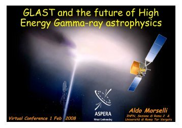 GLAST and the future of High Energy Gamma-ray ... - ResearchGate