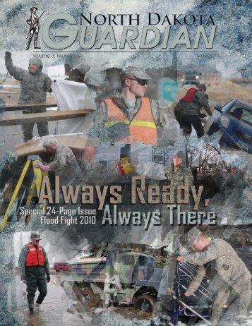 Volume 3, Issue 5 May 2010 - North Dakota National Guard - U.S. ...