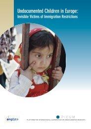 Undocumented Children in Europe - PICUM