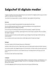 Salgschef til digitale medier - Webmakers A/S