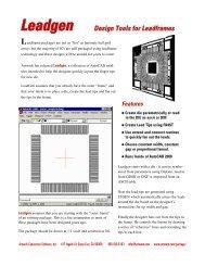 PDF Data Sheet - Artwork Conversion Software