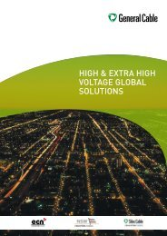 high & extra high voltage global solutions - General Cable Nordic AS