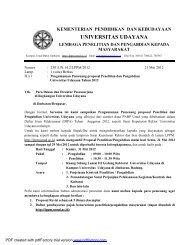 Lembaga Penelitian dan Pengabdian Masyarakat - Universitas ...