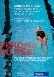 Docs in Progress Catalogue - Visions du Réel