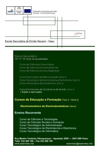 Escola Secundária de Emídio Navarro - Viseu ... - ESEN - Viseu