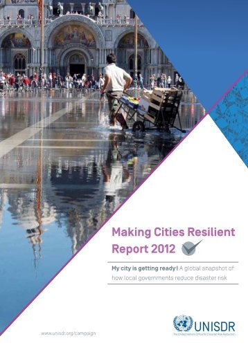 Making Cities Resilient Report 2012