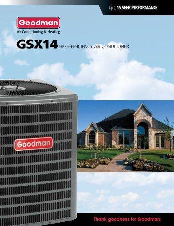 GsX14 - Goodman